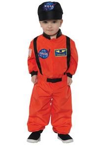 Astonaut Orange Costume for toddlers