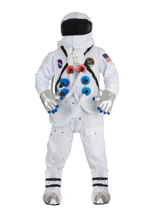 Deluxe Men Astonaut Costume