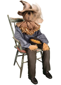Sitting Scarecrow - Halloween Props
