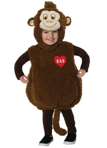 Toddlers Color Smile Monkey Costume - Build a Bear