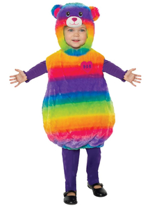 Toddlers Rainbow Friends Teddy Costume - Build a Bear