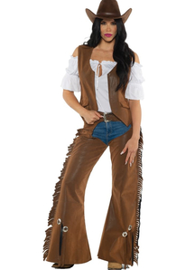 Women Cowgirl Adult Costume