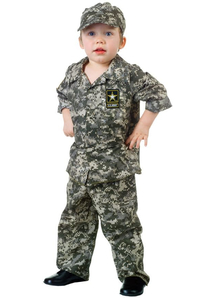 Army Soldier Toddler Costume