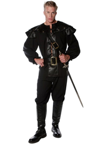 Black Warrior Adult Costume