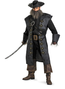 Blackbeard Adult Costume