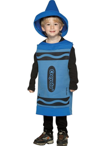 Blue Crayola Pencil Toddler Costume