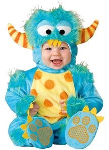 Blue Monster Infant Costume