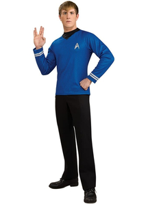 Blue Shirt Star Trek Adult
