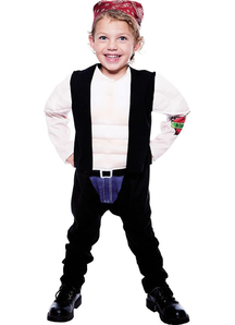 Brave Biker Toddler Costume
