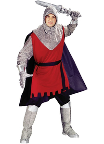Brave Knight Costume Adult