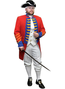 British Officer Adult Costume