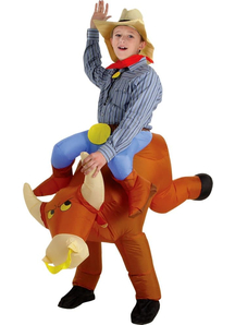 Bull Rider Inflatable Costume - 10948