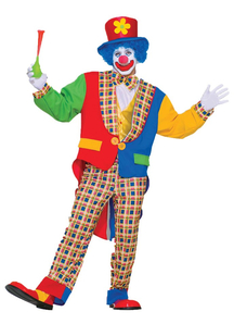 Classic Clown Adult Costume