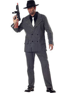 Classic Gangster Adult Costume