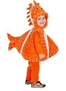 Clown Fish Toddler Costume