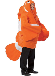 Clownfish Adult Costume
