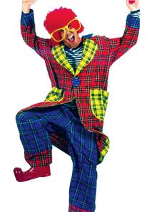 Comical Clown Adult Costume