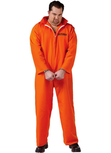 Convicted Adult Costume