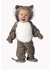Cute Leopard Toddler Costume
