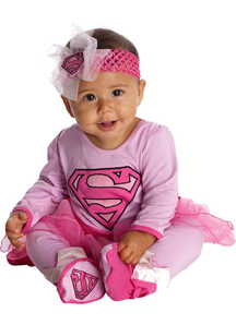 Cute Supergirl Infant Costume