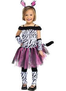Cute Zebra Toddler Costume