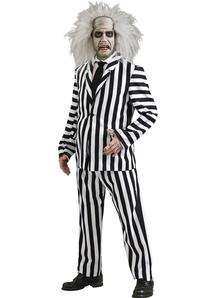 Deluxe Beetlejuice Adult Costume