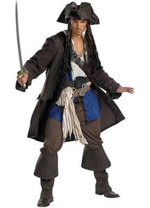 Deluxe Captain Jack Sparrow Adult Costume
