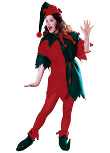 Elf Adult Women Costume