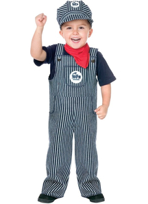 Engineer Toddler Costume