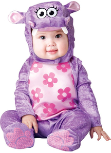 Flower Hippo Toddler Costume