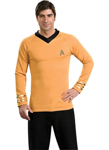 Gold Shirt Star Trek Adult