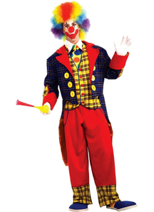 Great Clown Adult Costume