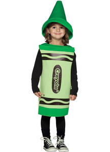 Green Crayola Toddler Costume