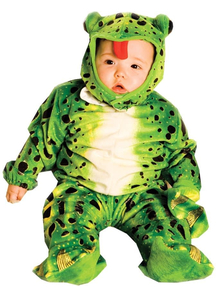 Green Frog Toddler Costume