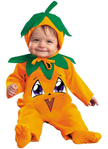 Halloween Pumpkin Infant Costume