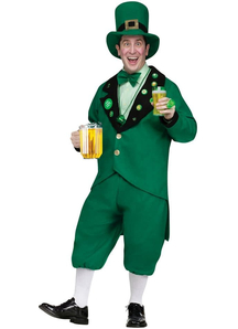 Happy Leprechaun Adult Costume