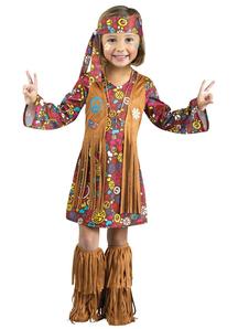 Hippie Toddler Costume