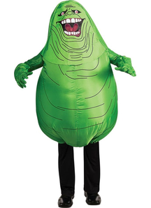 Inflatable Slimer Adult Costume