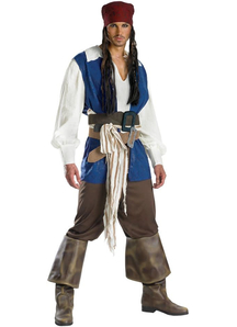 Jack Sparrow Adult Costume - 11178