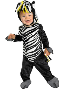 Little Zebra Toddler Costume