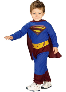 Man Of Steel Superman Toddler Costume