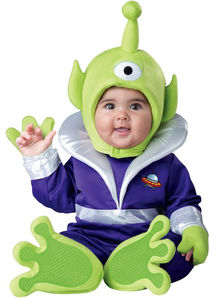 Martian Toddler Costume