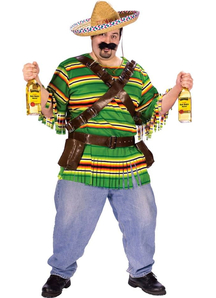 Mexican Guy Adult Plus Size Costume