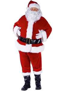 Mr Claus Costume Adult
