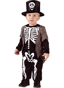 Mr Skeleton Toddler Costume