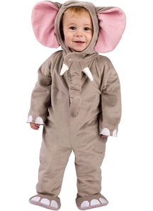 Nice Elephant Toddler Costume