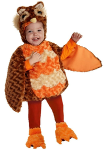 Owl Toddlers Costume