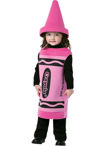 Pink Crayola Toddler Costume - 11372