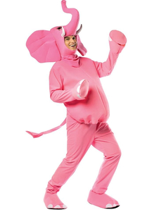 Pink Elephant Adult Costume