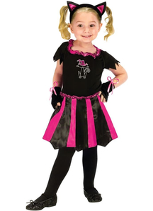 Pink Kitty Toddler Costume